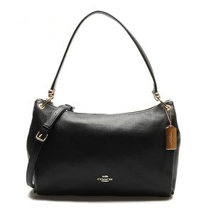 Coach MIA Shoulder Bag in Refined Pebble Leather